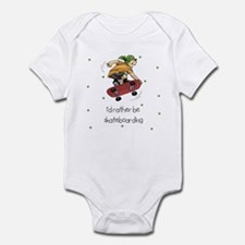 I'd Rather Be Skateboarding Baby Infant Bodysuit