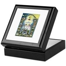 Let there be Light Tile Keepsake Box