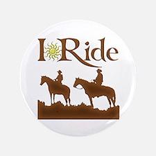 """I Ride 3.5"""" Button"""