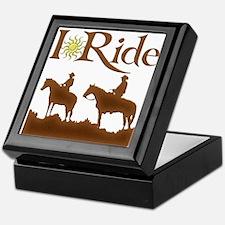 I Ride Keepsake Box