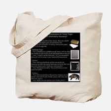 Poop Cleaning Substitutions Tote Bag