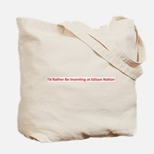 Cute Edison nation Tote Bag