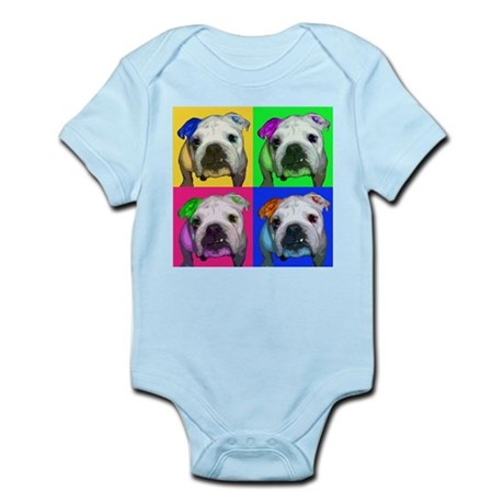 Pop Bulldog Infant Creeper