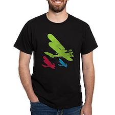 Vintage Retro Planes T-Shirt