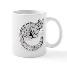 Snow Leopard Wild Cat Mug