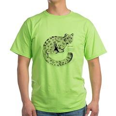 Snow Leopard Wild Cat T-Shirt