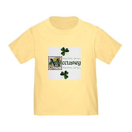 McCluskey Celtic Dragon Toddler T-Shirt