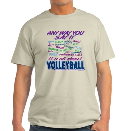 Volleyball Any Way Light T-Shirt