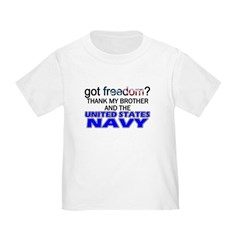 Got Freedom? NAVY (Brother) T