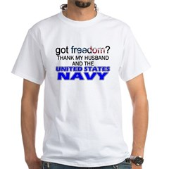Got Freedom? Navy (Husband) Shirt