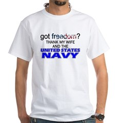 Got Freedom? Navy (Wife) Shirt