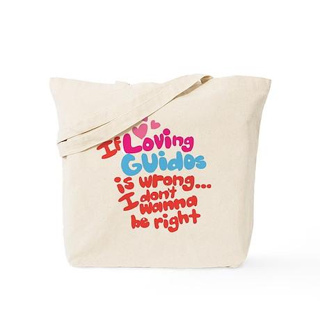 Loving Guidos Tote Bag