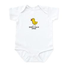 Sioux Falls Chick Infant Bodysuit