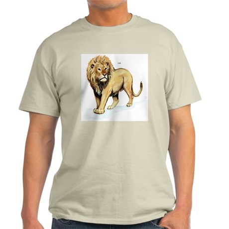 Lion Ash Grey T-Shirt