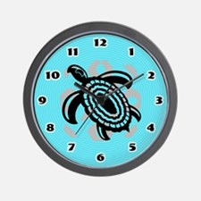 Cut Out Turtle Wall Clock