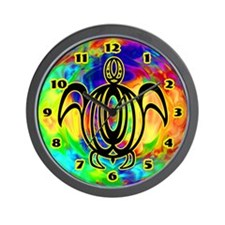 Circle Line Turtle Wall Clock