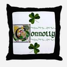 Connolly Celtic Dragon Throw Pillow