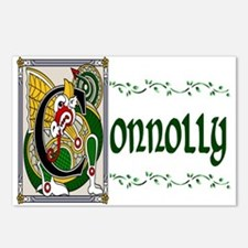Connolly Celtic Dragon Postcards (Package of 8)
