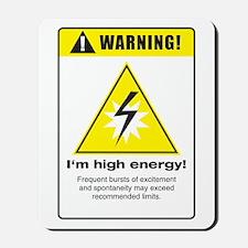 High Energy Mousepad