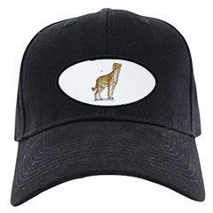 Cheetah Wild Cat Baseball Hat