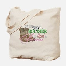 It Takes A Soldier Tote Bag