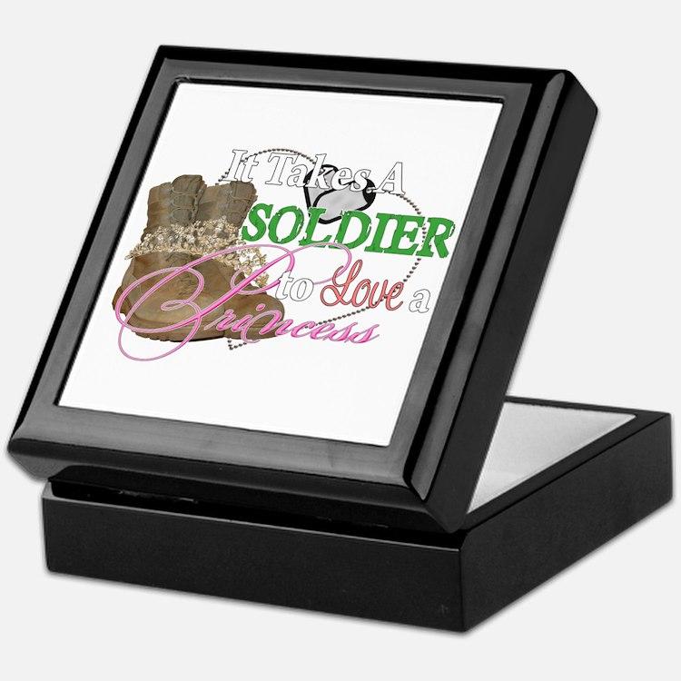 It Takes A Soldier Keepsake Box