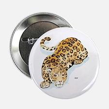 Jaguar Wild Cat Button
