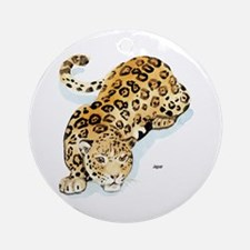 Jaguar Wild Cat Keepsake (Round)