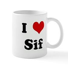 I Love Sif Mug