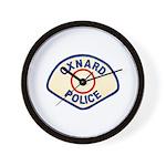 Oxnard Police Wall Clock