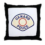 Oxnard Police Throw Pillow