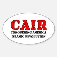 CAIR Oval Decal
