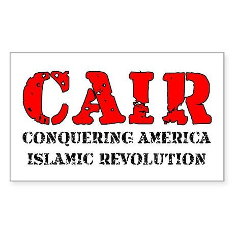 CAIR Rectangle Sticker