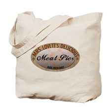 Mrs. Lovett's Famous Meat Pie Tote Bag