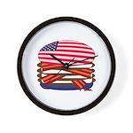 USA BURGER - Wall Clock