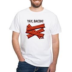 YAY, BACON! - Shirt (front/back design)