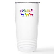 Goats Rule Travel Mug