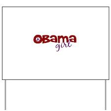 Obama Girl Yard Sign