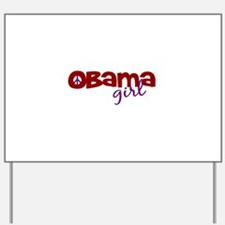 Obama Girl Yard Sign