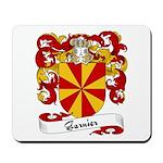 Garnier Family Crest Mousepad