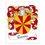 Garnier Family Crest Small Poster