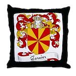 Garnier Family Crest Throw Pillow