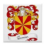 Garnier Family Crest Tile Coaster