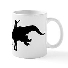 Black Rodeo Triceratops Mug