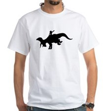 Black Rodeo Triceratops Shirt
