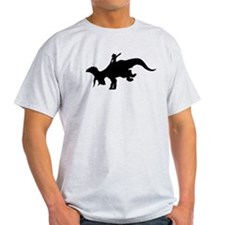 Black Rodeo Triceratops T-Shirt