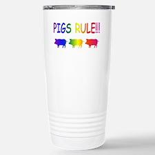 Pigs Rule Travel Mug