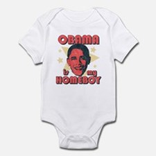 Obama is my Homeboy Infant Bodysuit