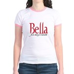 Bella from clumsy to invincib Jr. Ringer T-Shirt