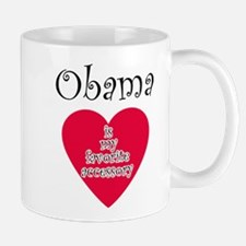 Unique I heart obama Mug